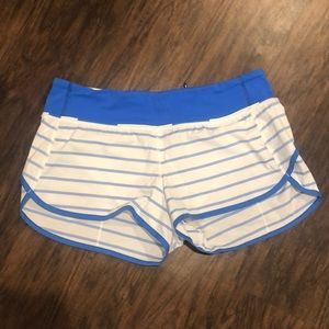Run Times Striped Short